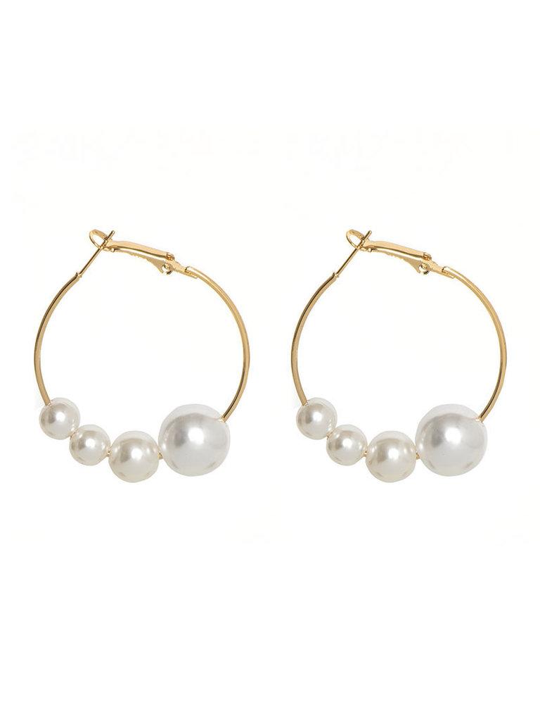 LADYLIKE FASHION Earrings Fearless Pearls
