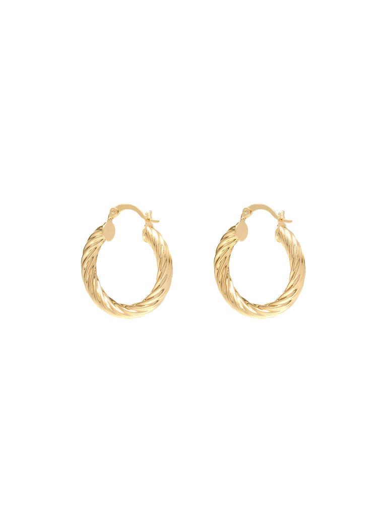 LADYLIKE FASHION Earrings Twisted