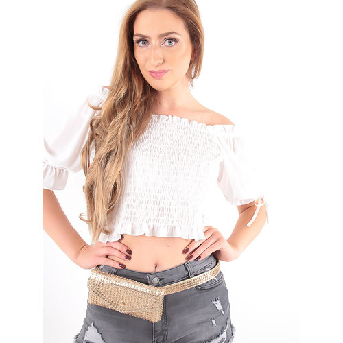 LADYLIKE FASHION Pouch Bag With Studs