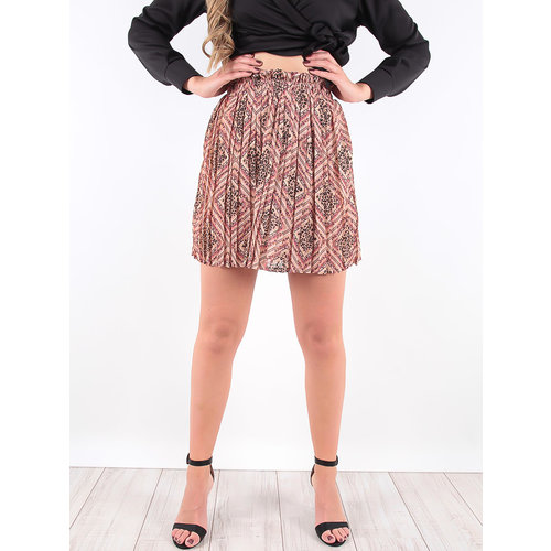 LADYLIKE FASHION Rose Print Skirt