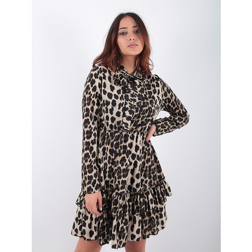 LADYLIKE FASHION Leopard Dress