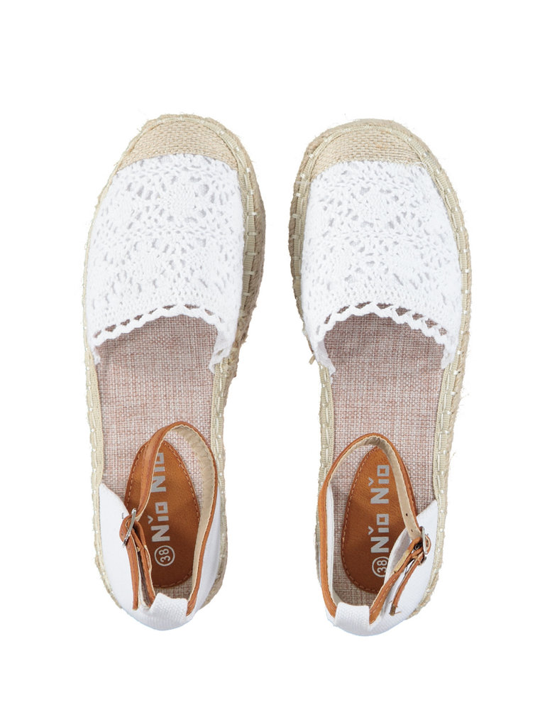 LADYLIKE FASHION Espadrille White