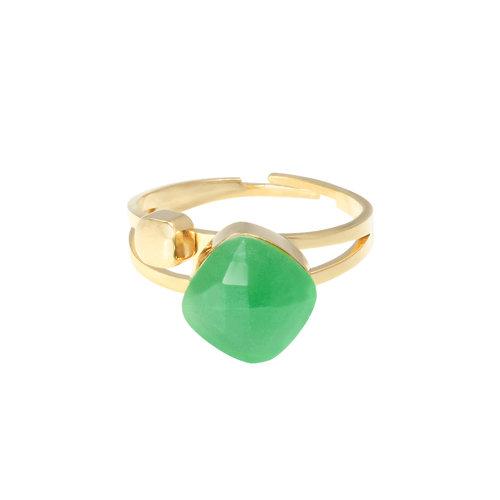LADYLIKE FASHION Ring Magic Moments Green