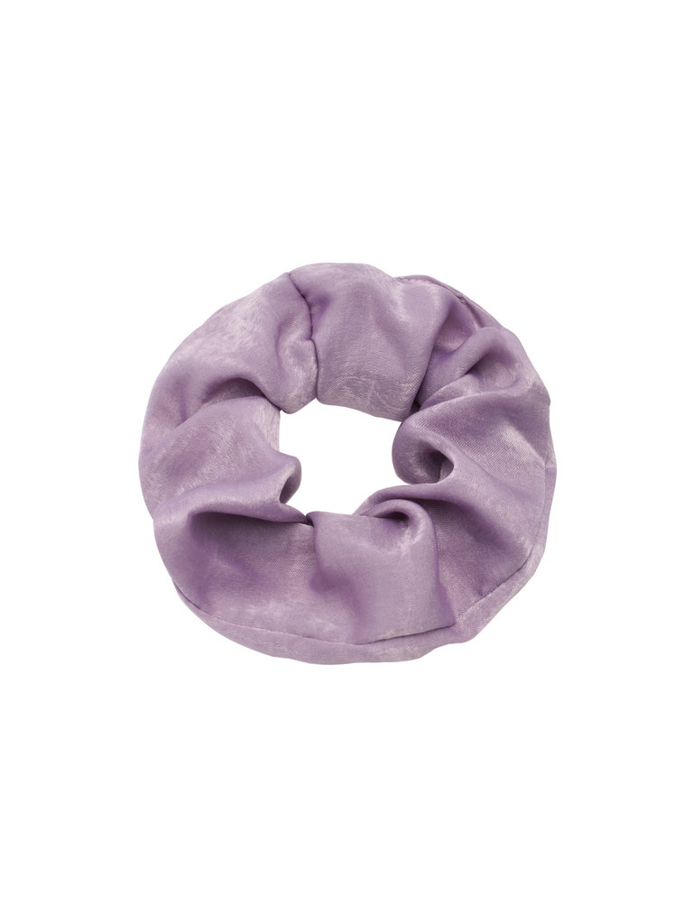 LADYLIKE FASHION Scrunchie Soft as Satin Purple