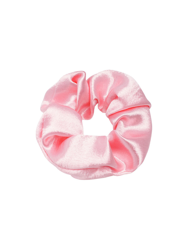 LADYLIKE FASHION Scrunchie Sweet as Satin Baby Pink