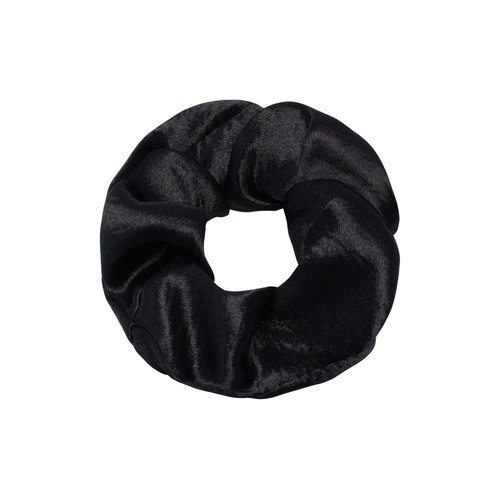 LADYLIKE FASHION Scrunchie Sweet as Satin Black