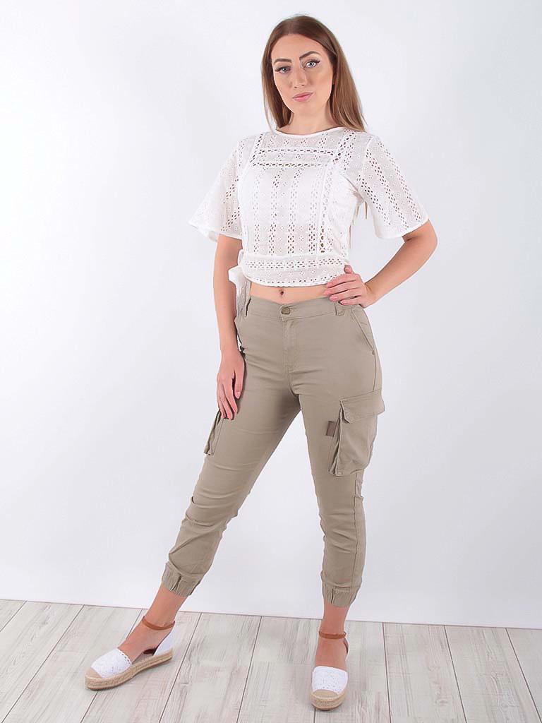 LADYLIKE FASHION Khaki Cargo Pants