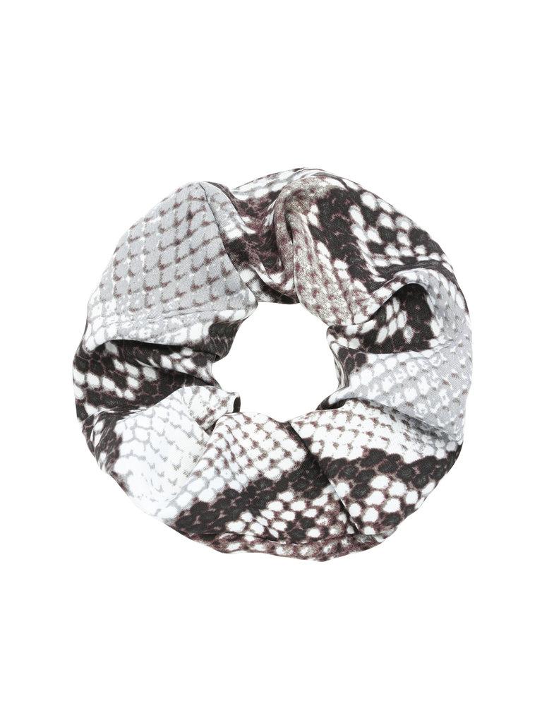 LADYLIKE FASHION Scrunchie Snake Grey