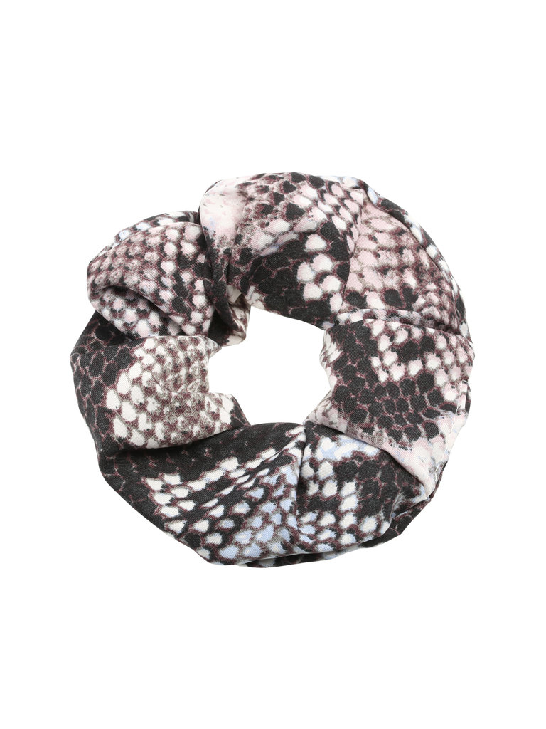 LADYLIKE FASHION Scrunchie Snake Blue/Pink