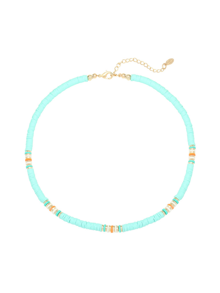LADYLIKE FASHION Necklace Ride the Waves Mint