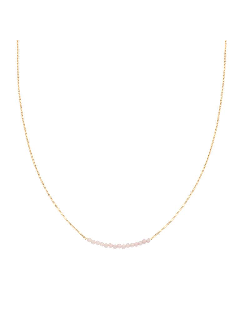 LADYLIKE FASHION Necklace Happy Beads Pink