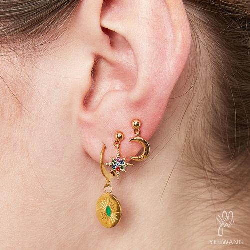 LADYLIKE FASHION Earrings Starry Night I