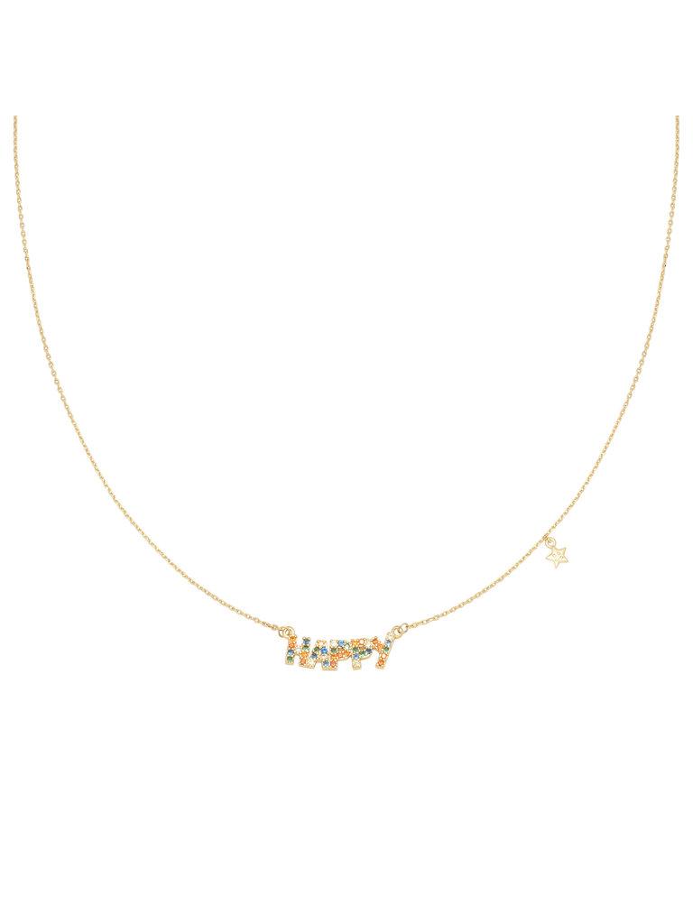 LADYLIKE FASHION Necklace Happy Star
