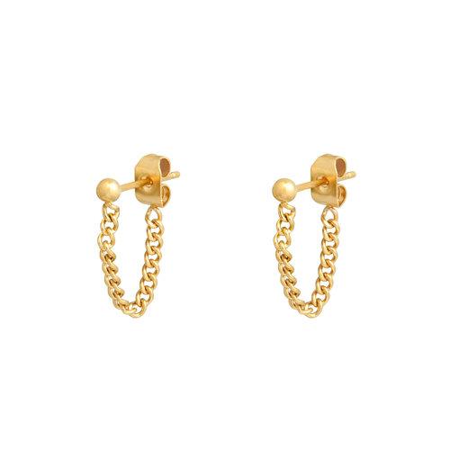 LADYLIKE FASHION Earrings Stud and Chain