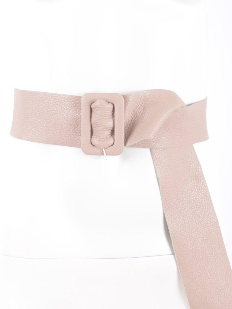 LADYLIKE FASHION Leather Belt pink