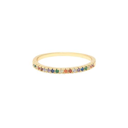 LADYLIKE FASHION Ring Rainbow #16
