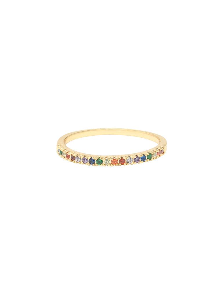 LADYLIKE FASHION Ring Rainbow #18
