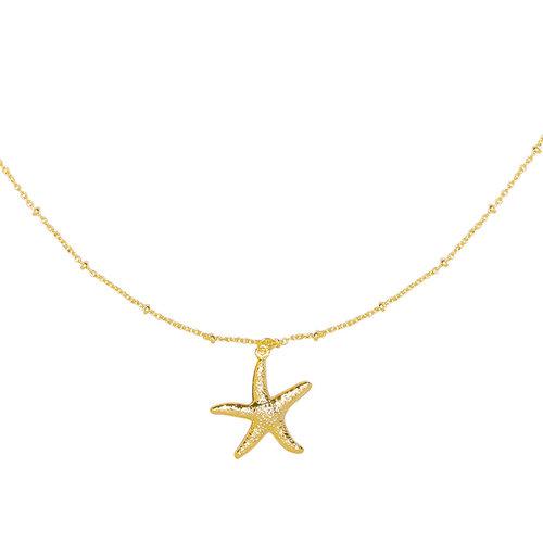 LADYLIKE FASHION Necklace Starfish Wish