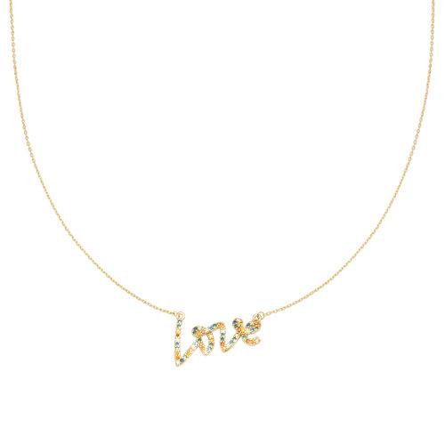 LADYLIKE FASHION Necklace Colorful Love