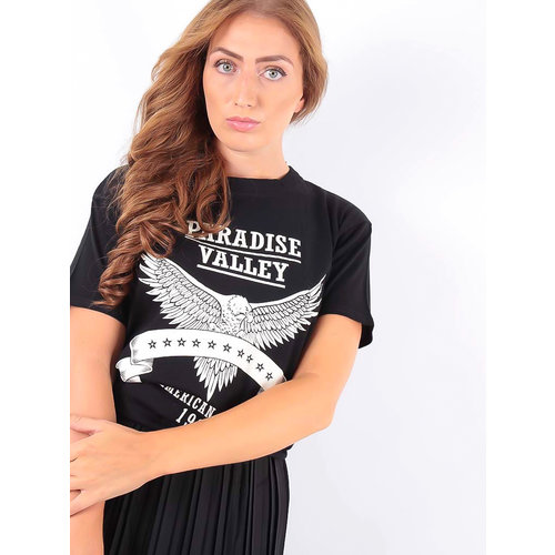 LADYLIKE FASHION T-Shirt Paradise Black
