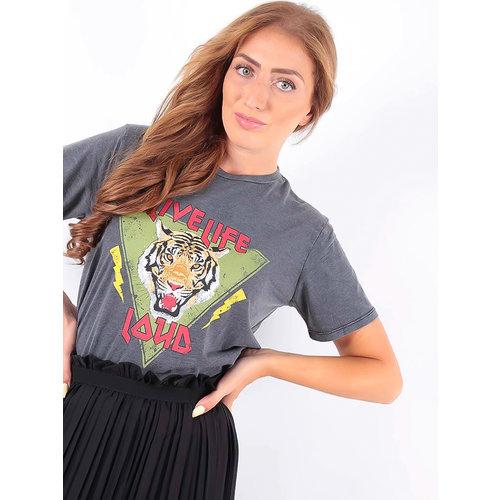 LADYLIKE FASHION T-Shirt Live Grey