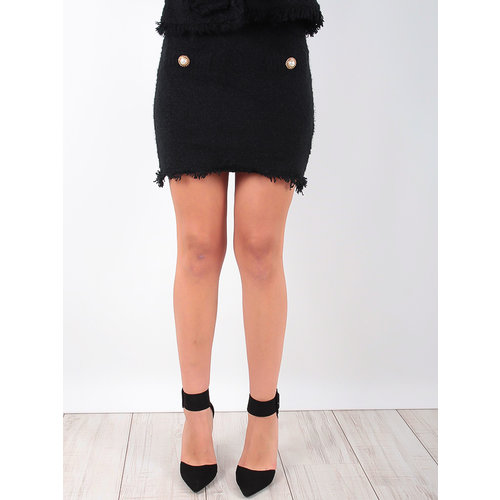 MISSKOO - LADYLIKE FASHION Classic Skirt Black