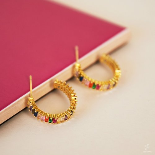 LADYLIKE FASHION Earrings Sunset Gold