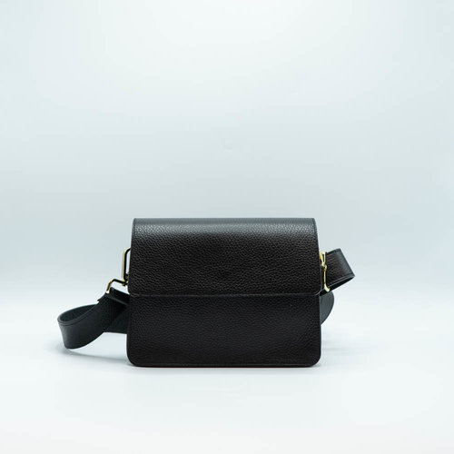 LADYLIKE FASHION Classic Leather Bag Black