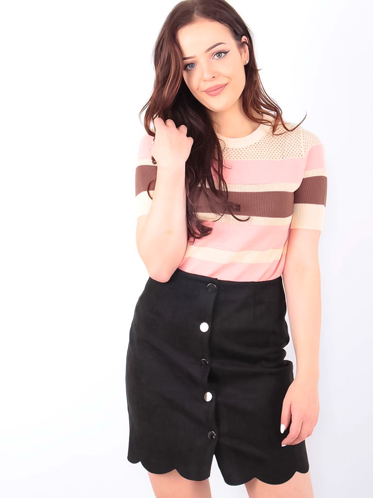Stripe Jumper Pink