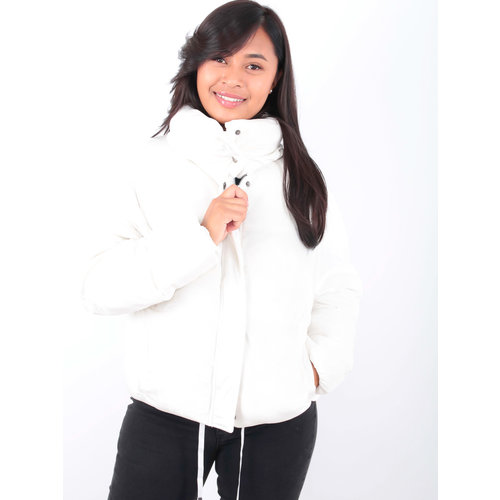K.ZELL Puff Jacket White