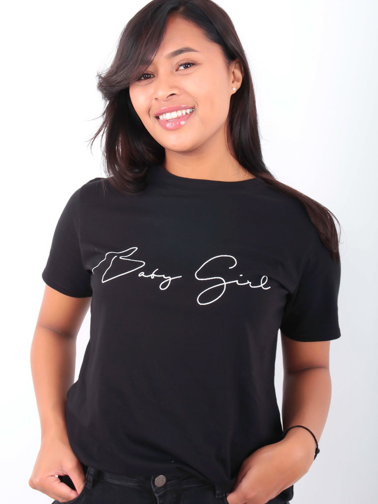 PRETTY BODY Baby Girl Shirt Black
