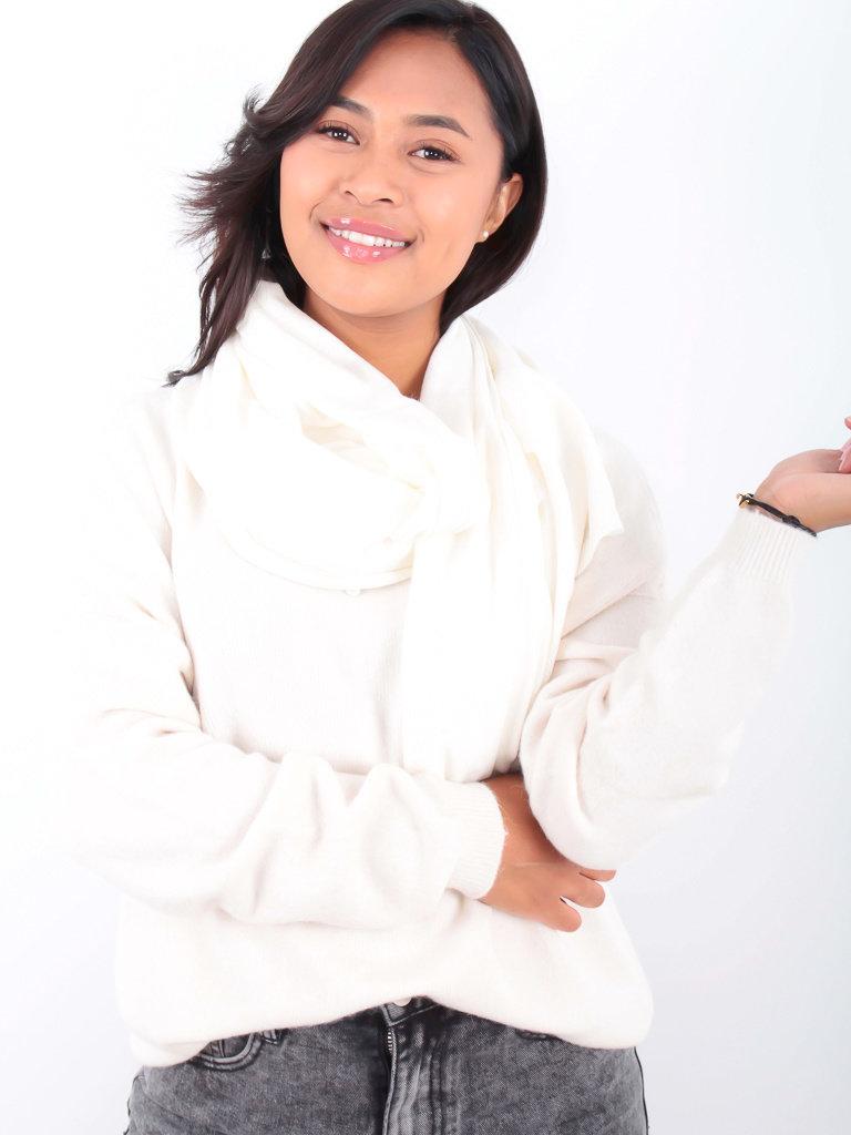 LADYLIKE FASHION Shawl/Plaid White