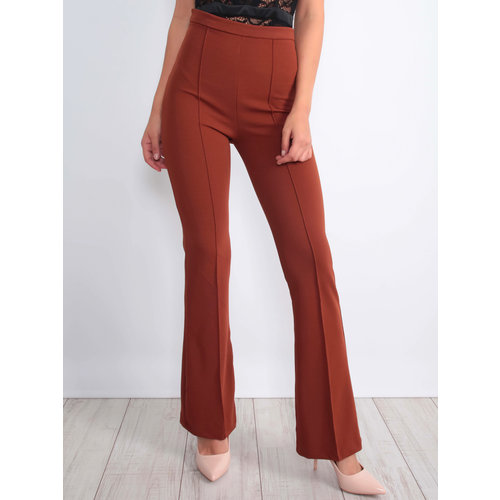 Ivivi Flared Trousers Brown