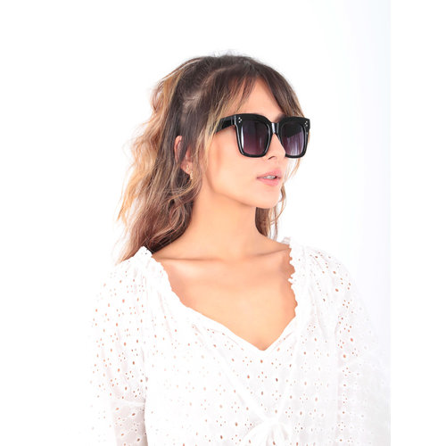 LADYLIKE FASHION Black Big Sunnies