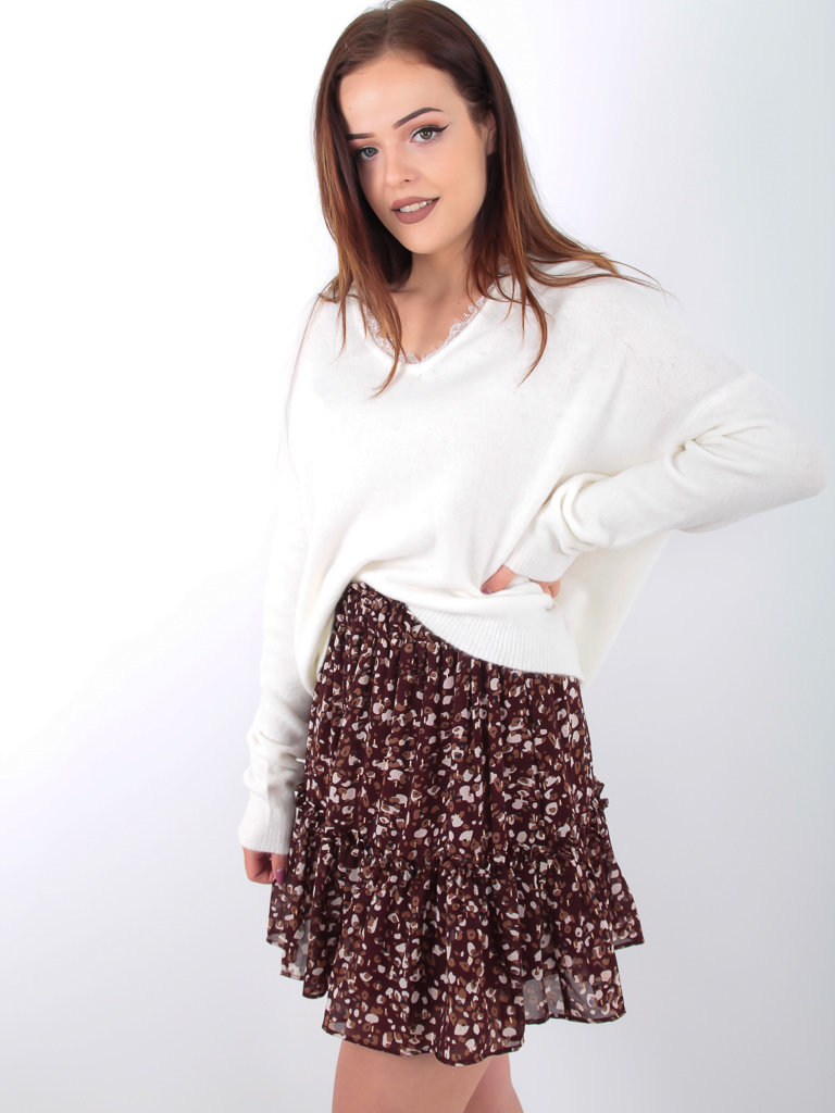 KILKY PARIS - LADYLIKE FASHION Jumper With Side White