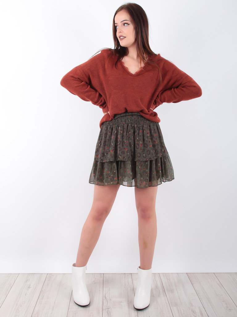 KILKY PARIS Jumper Lace Brown