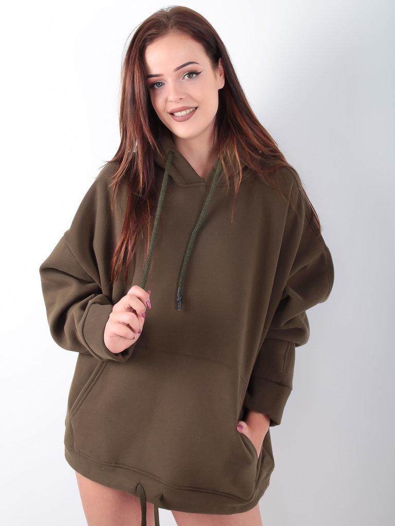 EMMA & ASHLEY - LADYLIKE FASHION Soft Cosy Sweater Green