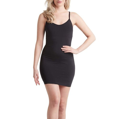 NO-MI bodywear - LADYLIKE FASHION Sleek Smooth Dress Black