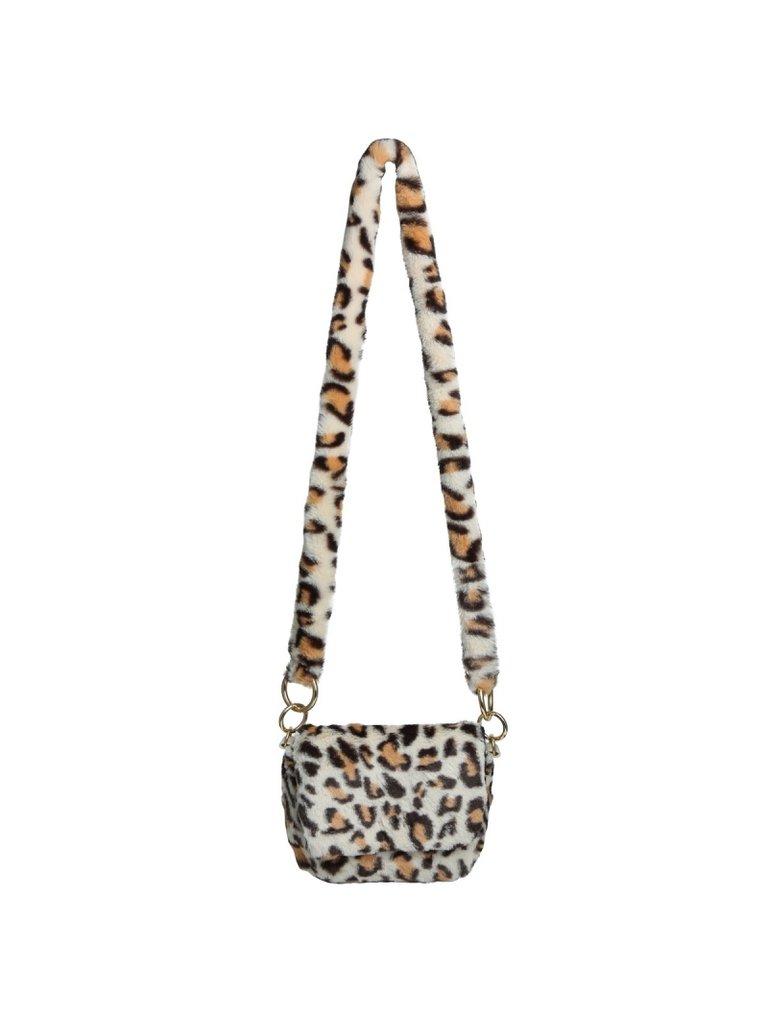 LADYLIKE FASHION Bag Fluffy Leopard Ecru