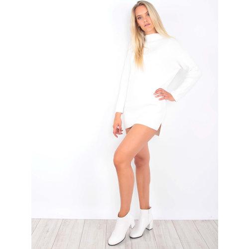 LADYLIKE FASHION Jumper Dress Off White