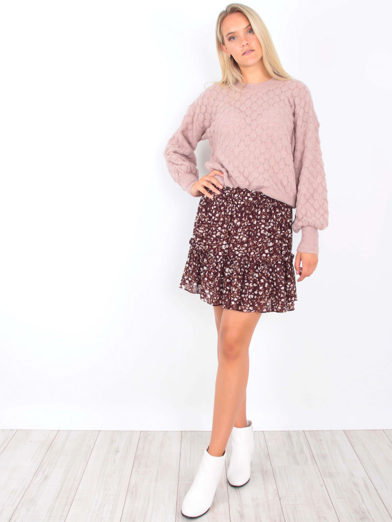 AN'GE Fantasy Knit Jumper Light Pink