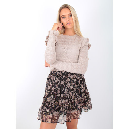 EMMA & ASHLEY Ajour Knit Jumper Beige