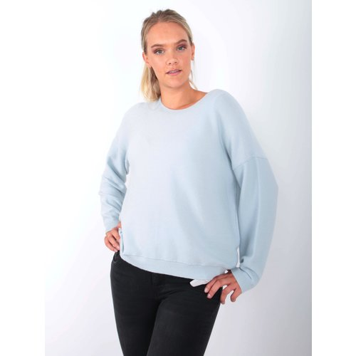 AN'GE Jumper Louisa Light Blue