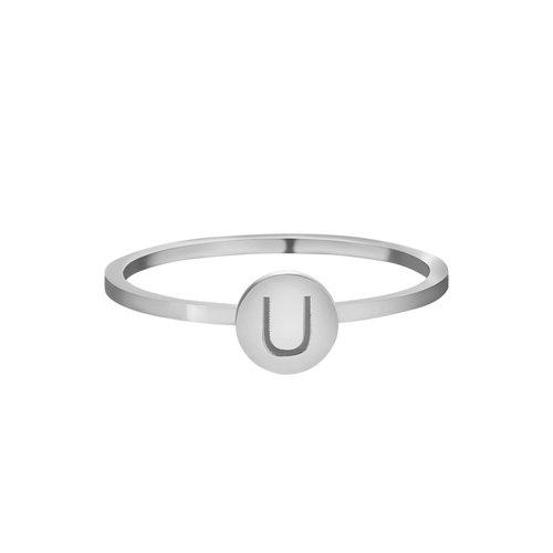 LADYLIKE FASHION Ring Initials U #16
