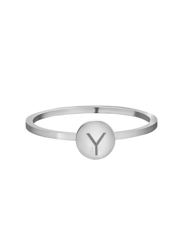 LADYLIKE FASHION Ring Initials Y #16