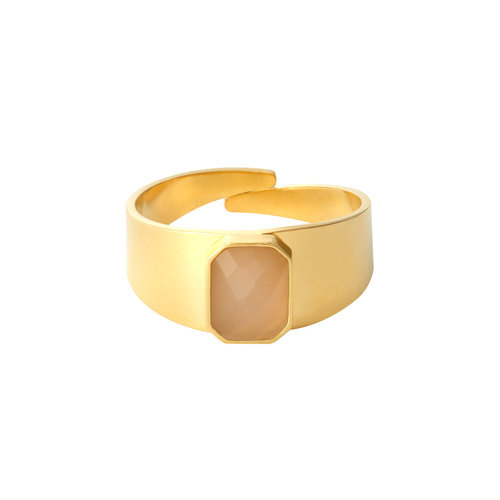 LADYLIKE FASHION Ring Color Party Rose