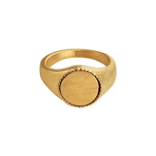 LADYLIKE FASHION Ring Always Remember #16