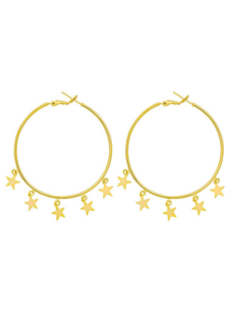 LADYLIKE FASHION Earrings Falling Stars