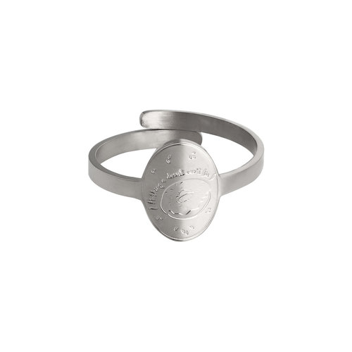 LADYLIKE FASHION Ring Donut Silver