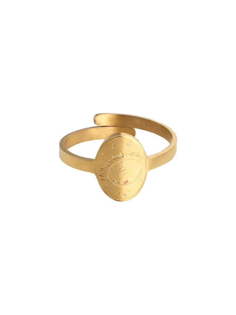 LADYLIKE FASHION Ring Donut Gold